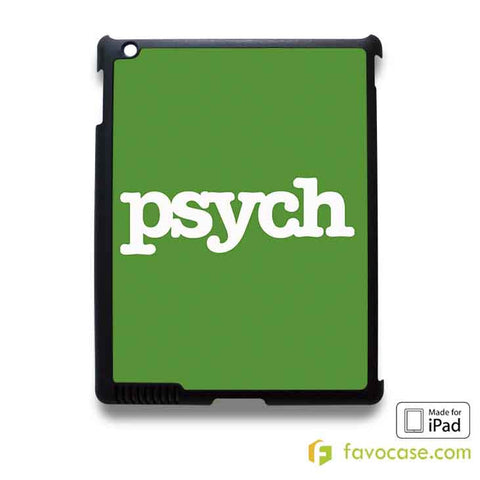 PSYCH Detective Agency iPad 2 3 4 5 Air Mini Case Cover
