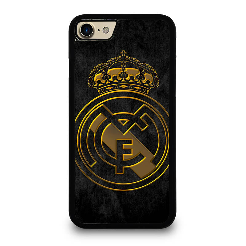 real madrid gold iphone 7 case best custom phone cover