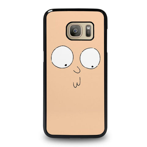 RICK-AND-MORTY-STUPID-FACE-samsung-galaxy-S7-case-cover