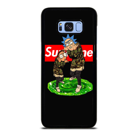 RICK AND MORTY SUPREME-samsung-galaxy-s8-plus-case-cover