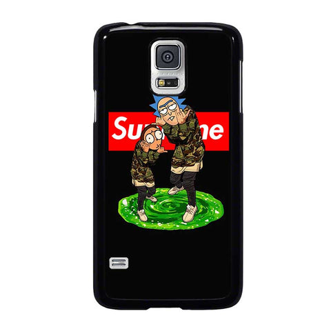 RICK AND MORTY SUPREME-samsung-galaxy-s5-case-cover