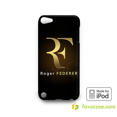 ROGER FEDERER 2 Tennis Perfect RF iPod Touch 4, 5 Case Cover