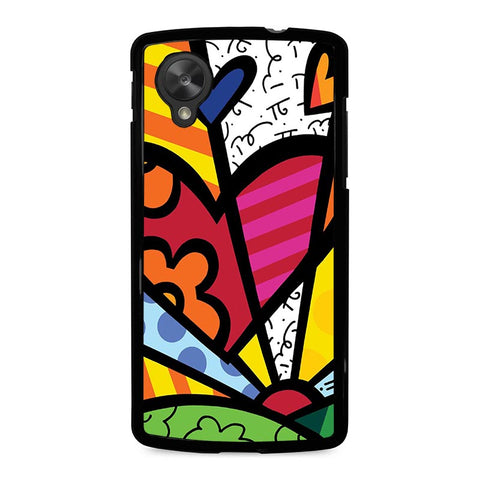 ROMERO-BRITTO-LOVE-nexus-5-case-cover