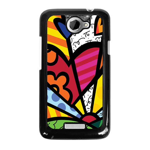 ROMERO-BRITTO-LOVE-HTC-One-X-Case-Cover