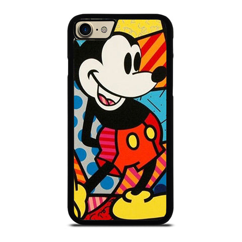 ROMERO BRITTO MICKEY MOUSE-iphone-7-case-cover