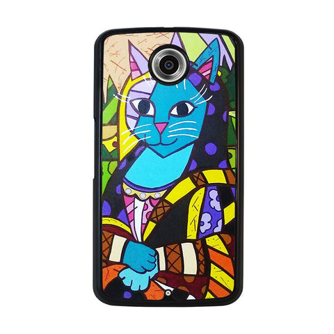 ROMERO-BRITTO-MONALISA-nexus-6-case-cover