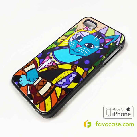 romero-britto-first-love-art-painting-iphone-4-4s-5-5s-5c-6-6-plus-case-cover