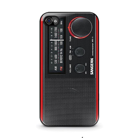 sangean-red-radio-iphone-4-4s-case-cover