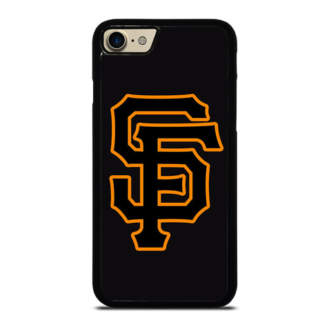 SAN FRANCISCO GIANTS BLACK LOGO-iphone-7-case-cover