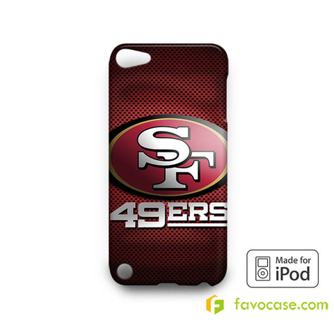 SAN FRANCISCO 49ERS 2 Football Team NFL  iPod Touch 4, 5 Case Cover