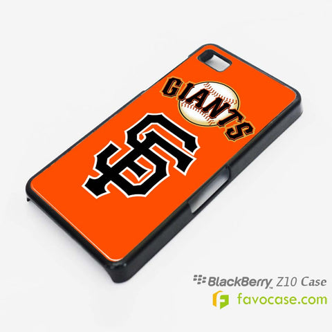 SAN FRANCISCO GIANTS 3 Baseball Team MLB Blackberry Z10 Q10 Case Cover