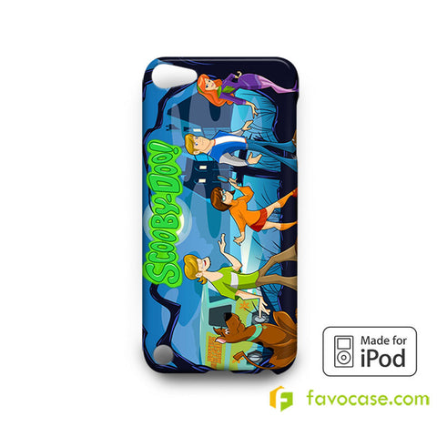 SCOOBY DOO Mystery Machine iPod Touch 4, 5 Case Cover