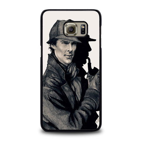 SHERLOCK-HOLMES-ART-samsung-galaxy-s6-edge-plus-case-cover