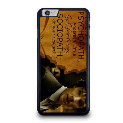 SHERLOCK-HOLMES-PSYCHOPATH-iphone-6-6s-plus-case-cover