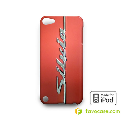 SILVIA Nissan Car Logo iPod Touch 4, 5 Case Cover
