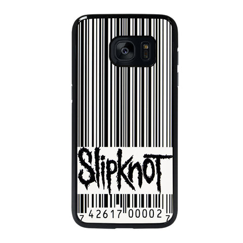 SLIPKNOT BARCODE LOGO-samsung-galaxy-S7-edge-case-cover
