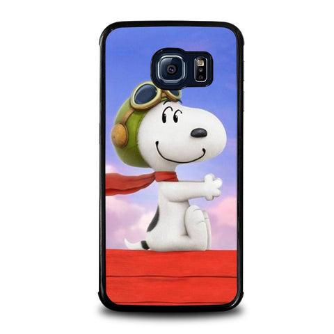SNOOPY-DOG-samsung-galaxy-s6-edge-case-cover