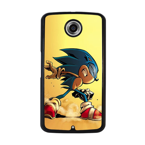 SONIC-THE-HEDGEHOG-CARTOON-nexus-6-case-cover
