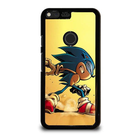 SONIC-THE-HEDGEHOG-CARTOON-google-pixel-xl-case-cover