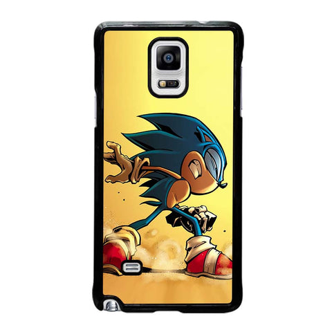 SONIC-THE-HEDGEHOG-CARTOON-samsung-galaxy-note-4-case-cover