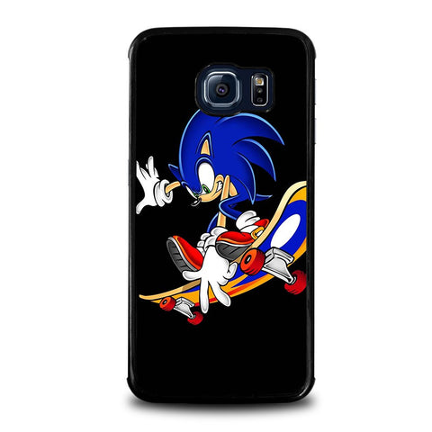 SONIC-THE-HEDGEHOG-SKATEBOARD-samsung-galaxy-s6-edge-case-cover