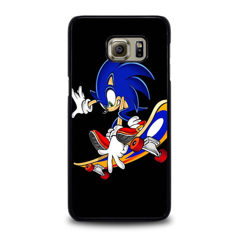 SONIC-THE-HEDGEHOG-SKATEBOARD-samsung-galaxy-s6-edge-plus-case-cover