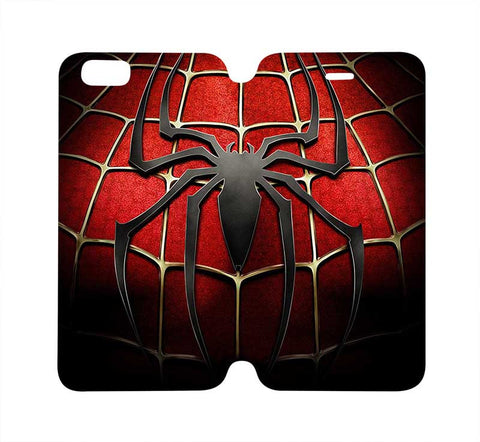 SPIDERMAN Marvel Wallet Case for iPhone 4/4S 5/5S/SE 5C 6/6S Plus Samsung Galaxy S4 S5 S6 Edge Note 3 4 5