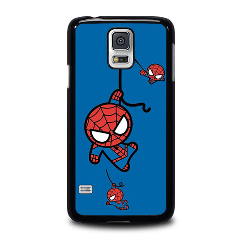 SPIDERMAN-KAWAII-Marvel-Avengers-samsung-galaxy-s5-case-cover