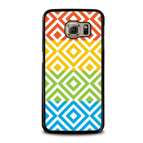 SQUARE-Pattern-samsung-galaxy-s6-case-cover