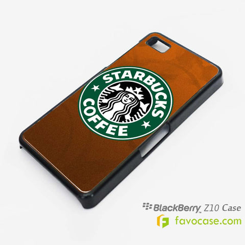 STARBUCKS Coffee Logo Blackberry Z10 Q10 Case Cover
