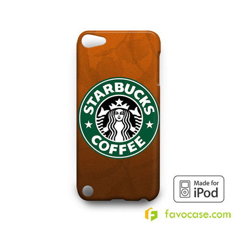 STARBUCKS Coffee LogoiPod Touch 4, 5 Case Cover
