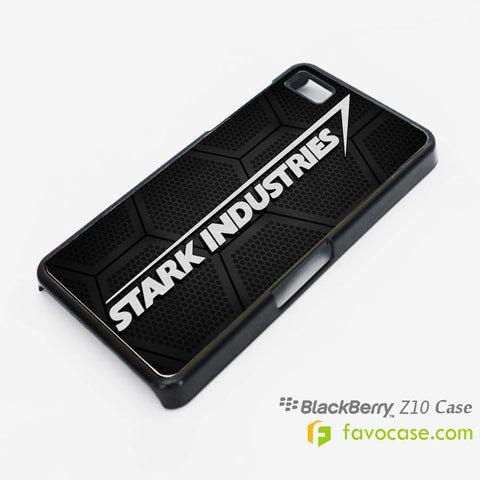 STARK INDUSTRIES Iron Man Avengers Blackberry Z10 Q10 Case Cover