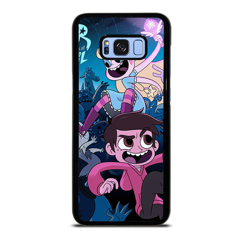 STAR VS THE FORCE OF EVIL-samsung-galaxy-s8-plus-case-cover