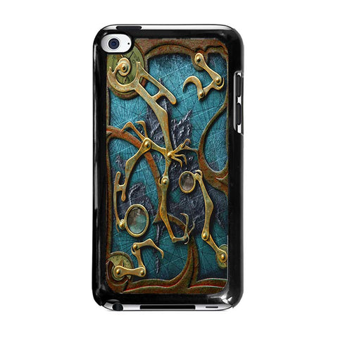 STEAMPUNK-BOOK-ipod-touch-4-case-cover