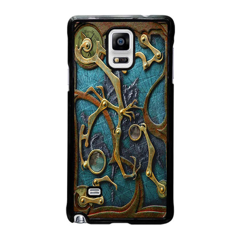 STEAMPUNK-BOOK-samsung-galaxy-note-4-case-cover