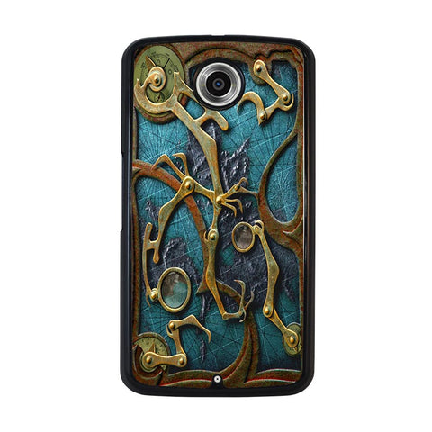 STEAMPUNK-BOOK-nexus-6-case-cover
