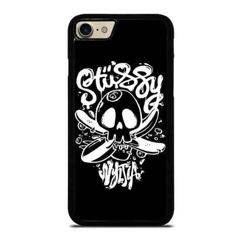 STUSSY SKULL LOGO-iphone-7-case-cover