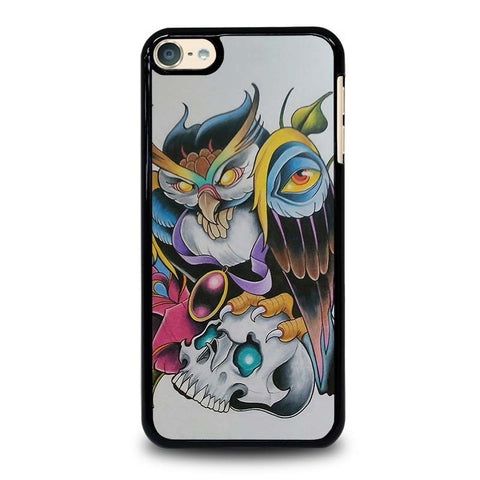 SUGAR-SCHOOL-OWL-TATTOO-ipod-touch-6-case-cover