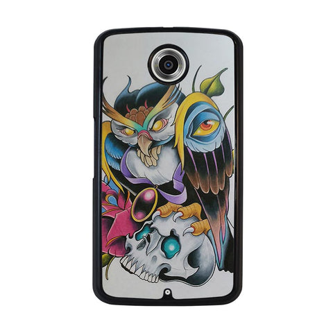 SUGAR-SCHOOL-OWL-TATTOO-nexus-6-case-cover