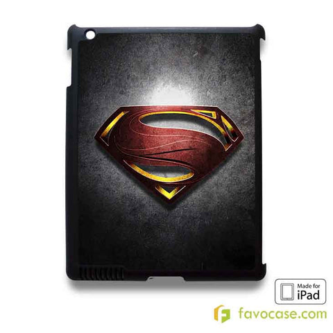 SUPERMAN 1 Man of Steel  iPad 2 3 4 5 Air Mini Case Cover