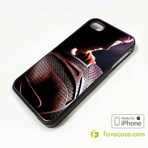 SUPERMAN 2 Man of Steel iPhone 4/4S 5/5S/SE 5C 6/6S 7 8 Plus X Case Cover