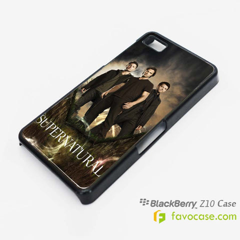 SUPERNATURAL Sam Dean Winchester Blackberry Z10 Q10 Case Cover