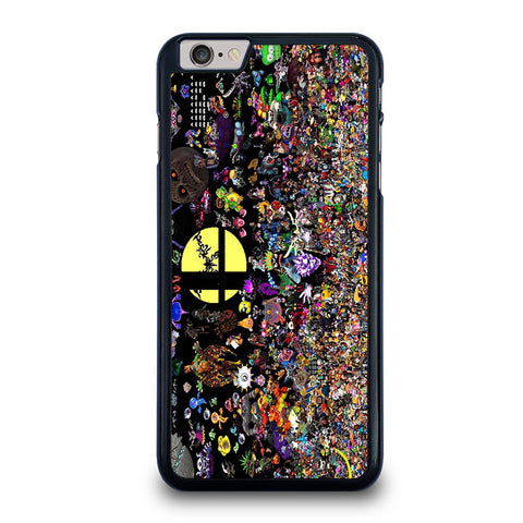 SUPER-SMASH-BROS-ALL-CHARACTER-iphone-6-6s-plus-case-cover