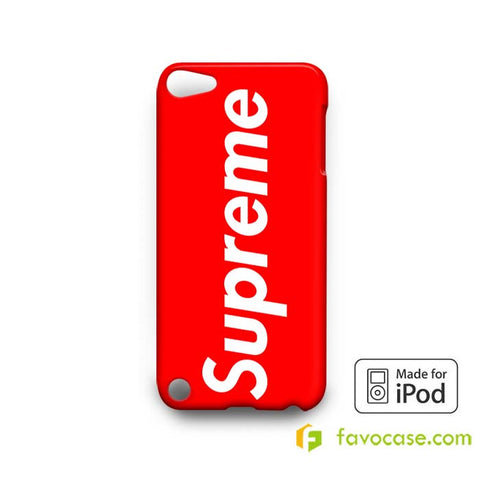 SUPREME 2  iPod Touch 4 5 6 Case