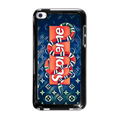 SUPREME AND SNAKEipod-touch-4-case-cover