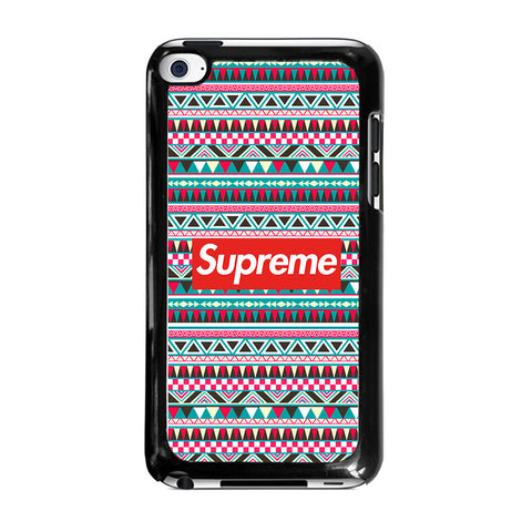 SUPREME AZTEC PATTERNipod-touch-4-case-cover
