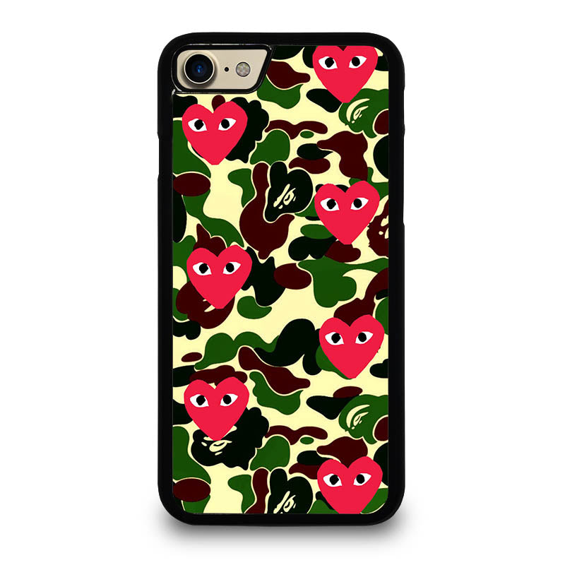 supreme bape comme des garcons iphone 7 plus case cover. Black Bedroom Furniture Sets. Home Design Ideas