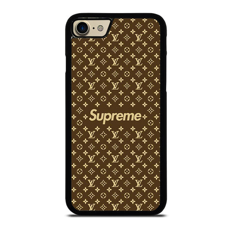SUPREME BROWN PATTERN NEW-case-for-iphone-ipod-samsung-galaxy