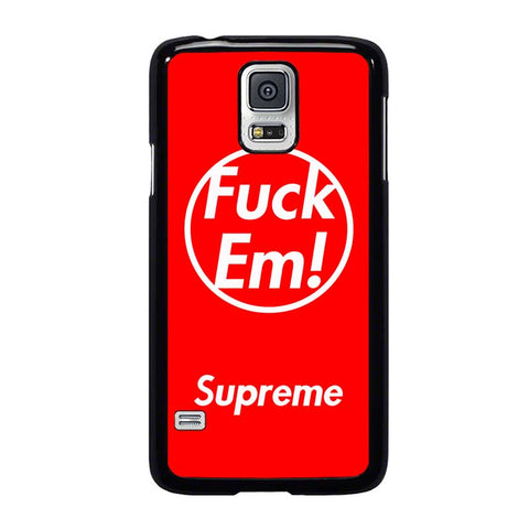 SUPREME FUCK EM RED-samsung-galaxy-s5-case-cover