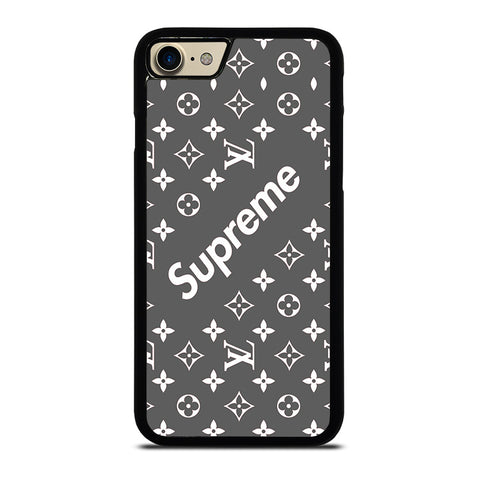 SUPREME GREY PATTREN-iphone-7-case-cover